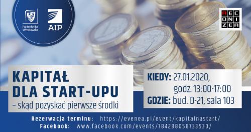 Kapitał dla start-up'u. Skąd pozyskać pierwsze środki?