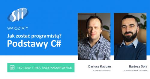 Warsztaty: Jak zostać programistą? Podstawy języka C#