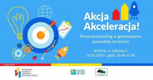 """Bezpłatne szkolenie """"Personal branding w generowaniu pomysłów na biznes"""""""