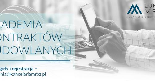 Umowy budowlane 2.0 - Wrocław