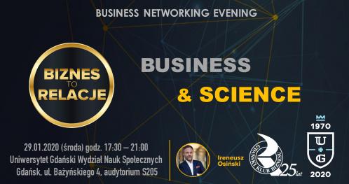 BIZNES TO RELACJE - Business Networking Evening na Uniwersytecie Gdańskim