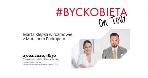 #byckobietaontour z Marcinem Prokopem w Zielonej Górze