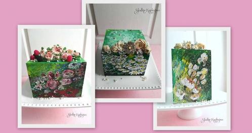 Szkolenie z zakresu malowania tortów kremem i tworzenia kwiatów maślanych: 18-19.01.2019