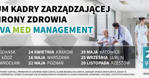 V Forum Kadry Zarządzającej w Ochronie Zdrowia - Łódź, 28.02.