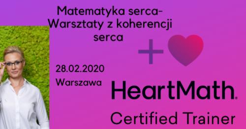 MATEMATYKA SERCA - warsztaty z koherencji Serca zgodnie z HeartMath Institute