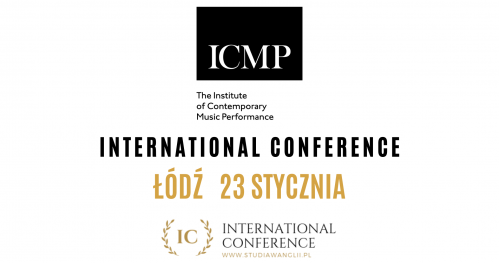 Study Music in London with ICMP | International Conference 23.01.2020 Łódź