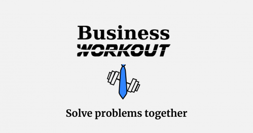 Business Workout - Solve problems together // Wrocław