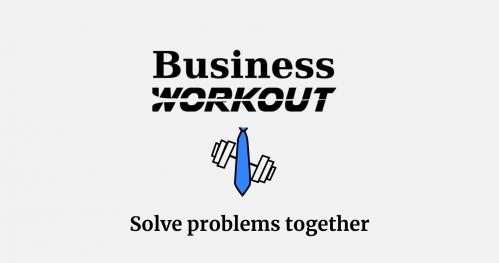 Business Workout - Solve problems together // Kraków