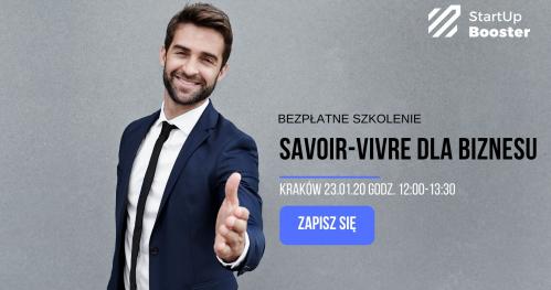 Savoir-vivre dla biznesu