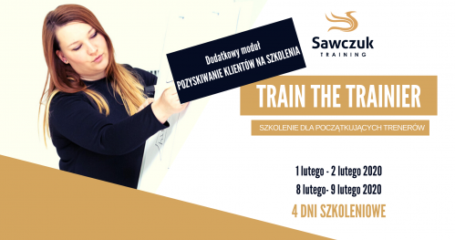 Train The Trainer - Szkolenie dla początkujących trenerów