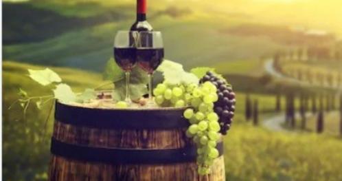 """Noc Wina w Dworze Sieraków****   Tematyczna kolacja z degustacją win """"Nie tylko Chianti"""""""