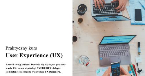 Kurs User Experience Design - WARSZAWA