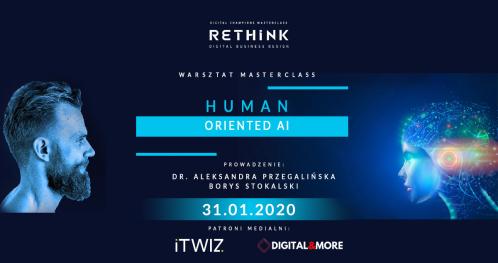 Inspirujący warsztat HUMAN ORIENTED AI w ramach Master Class Digital Champions