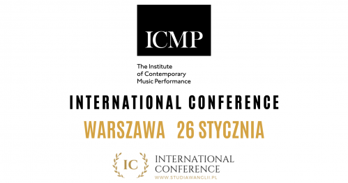 Study Music in London with ICMP | International Conference 26.01.2020 Warszawa