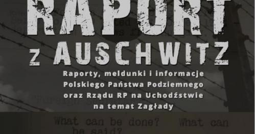 """Pokaz filmowy """"Raport z Auschwitz"""""""