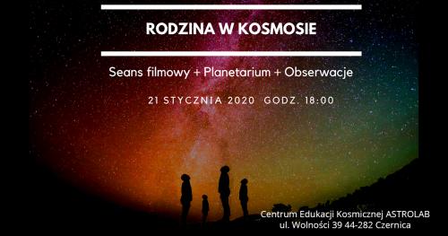 ASTROHUNTERS - Rodzina w Kosmosie - 21.01.2020 godzina 18:00