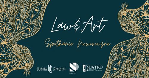 01.02.2020 Law&Art / rozmowy o prawie i sztuce / wydarzenie z aukcją charytatywną