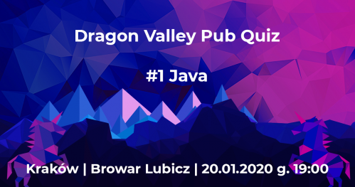 Dragon Valley Pub Quiz #1 Java