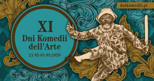 "Inauguracja Dni Komedii dell'Arte Wernisaż wystawy: ""Arlekin. Wokół komedii dell'arte"""
