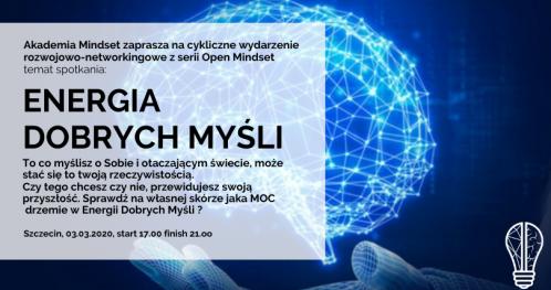 Energia Dobrych Myśli - Open Mindset
