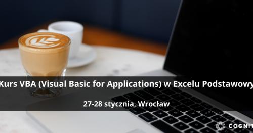 Kurs VBA (Visual Basic for Applications) w Excelu Podstawowy - Wrocław
