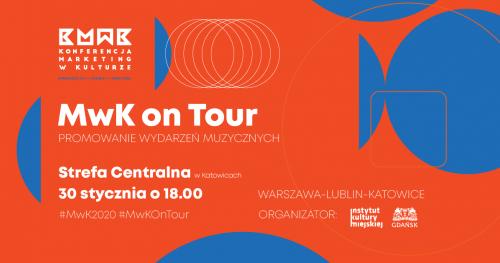 Konferencja MwK on Tour: promowanie wydarzeń muzycznych