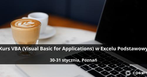 Kurs VBA (Visual Basic for Applications) w Excelu Podstawowy - Poznań