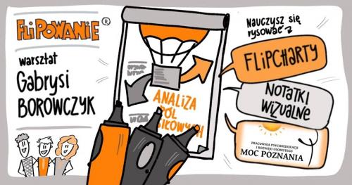 FLIPOWANIE® warsztat rysowania magicznych flipchartów - Poznań