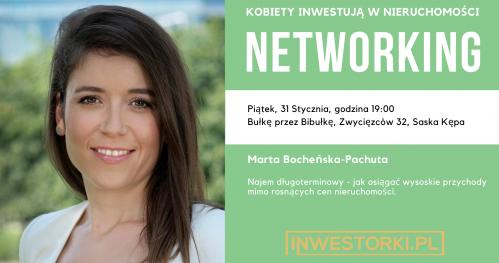 Kobiety Inwestują w Nieruchomości - networking