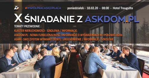 X Śniadanie z askdom.pl