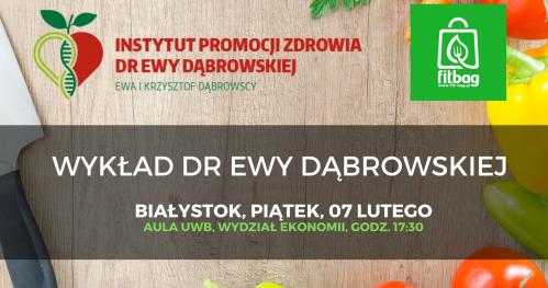 Wykład Dr Ewy Dąbrowskiej