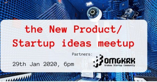The New Product/Startup Ideas meetup
