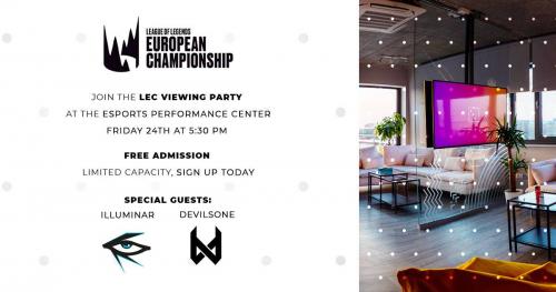 LEC viewing party