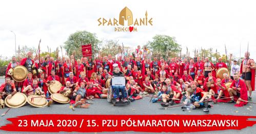 15. PZU Półmaraton Warszawski - Fundacja Spartanie Dzieciom