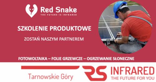Darmowa energia słoneczna - szkolenie produktowe Red Snake