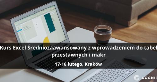 Kurs Excel Średniozaawansowany z wprowadzeniem do tabel przestawnych i makr - Kraków
