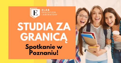 Studia za granicą - spotkanie w Poznaniu