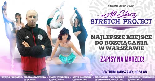 All Stars Stretch Project - Zapisy na marzec ! Nowe grupy