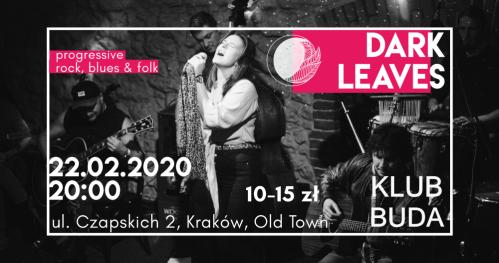 Dark Leaves live @Klub Buda
