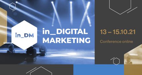 Konferencja in DM | 13-15.10.21 | online | + od 06.09. dedykowane wykłady online