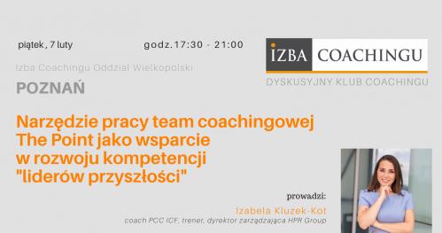 Narzędzie pracy team coachingowej The Point/ DKC Poznań