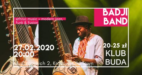 Ethno Jazz, Funk & Fusion with The Badji Band @Klub Buda