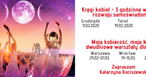 Krąg Kobiet - warsztaty rozwoju samoświadomości, Toruń