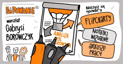 FLIPOWANIE® warsztat rysowania magicznych flipchartów - WARSZAWA 09.03.2020