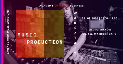 Warsztaty produkcji muzycznej - DAW jako narzędzie pracy.