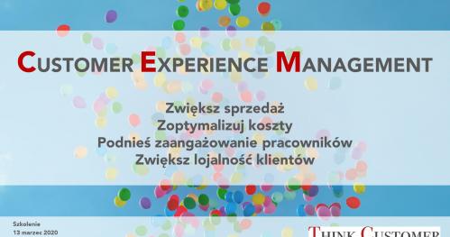 Szkolenie Customer Experience Management