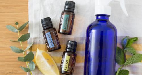 Zdrowe nawyki z olejkai eterycznymi