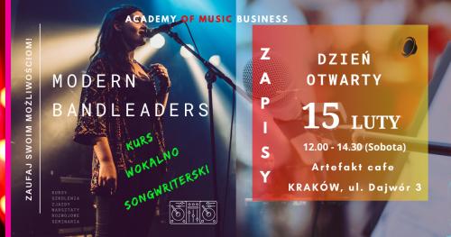 Dzień Otwarty: Kurs Wokalno-Songwriterski