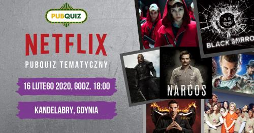 Netflixowy PubQuiz - Gdynia