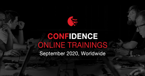 CONFidence Online Trainings 2020